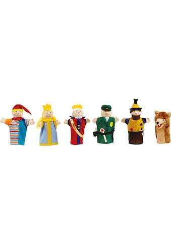 roba® Handpuppe »Kasperfiguren, 6-fach sortiert« kaufen