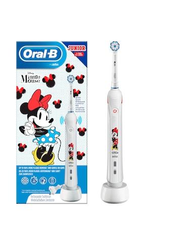 Oral B Elektrische Kinderzahnbürste Junior Minnie Mouse, Aufsteckbürsten: 1 Stk. kaufen