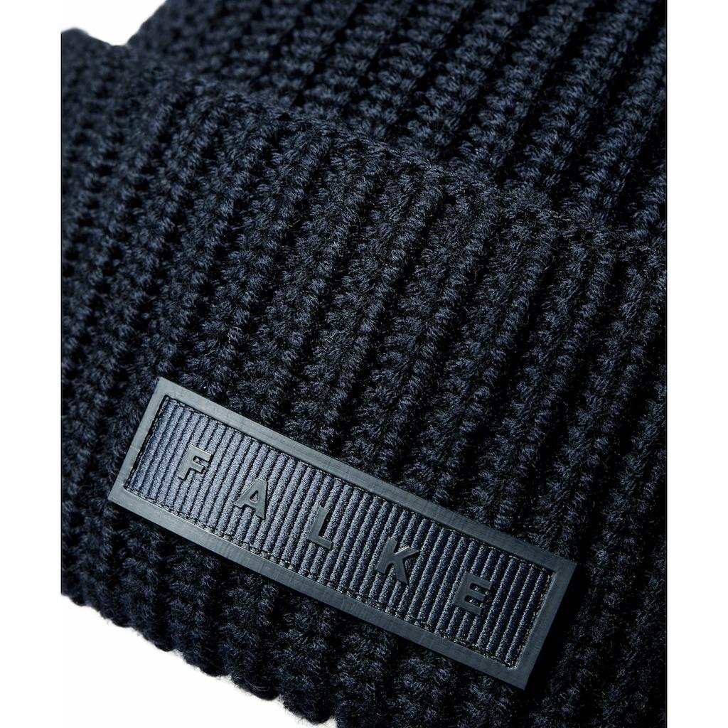 FALKE Strickmütze »Mütze«, aus feinster Merinowolle