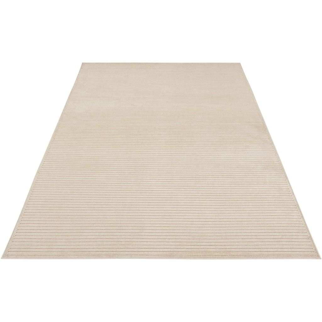 MINT RUGS Teppich »Hazel«, rechteckig, 4 mm Höhe, Hoch-Tief-Effekt, Wohnzimmer