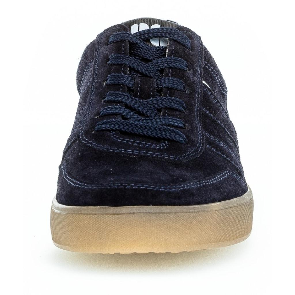 Pius Gabor Sneaker, mit kontrastfarbenem Einsatz