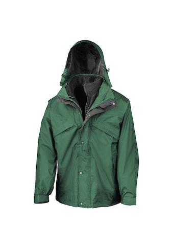 Result 3-in-1-Funktionsjacke »Herren 3-in-1 StormDri Jacke mit Reissverschluss und Druckknöpfen, wasserabweisend, winddicht« kaufen