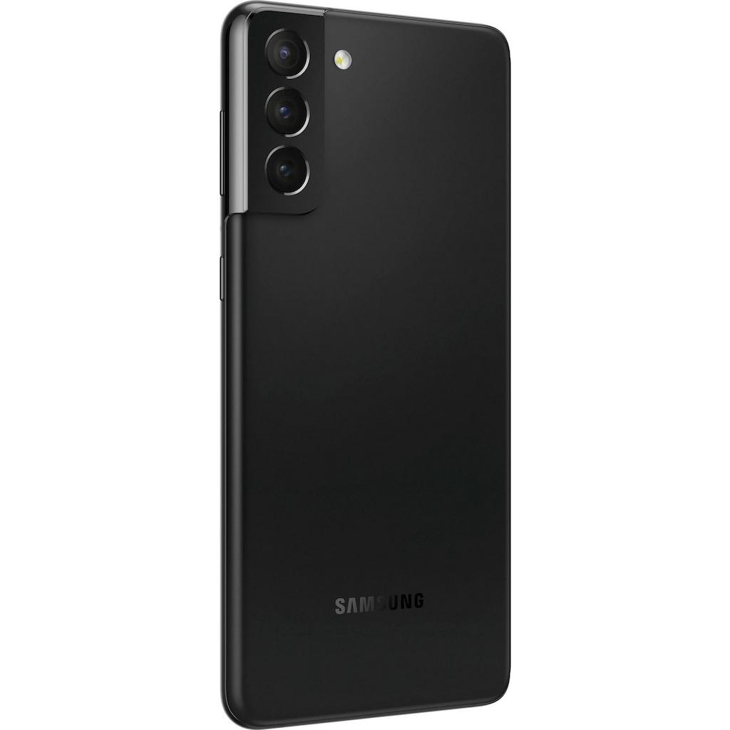 "Samsung Smartphone »Galaxy S21+«, (16,95 cm/6,7 "", 256 GB Speicherplatz, 12 MP Kamera), 256 GB black 5G"