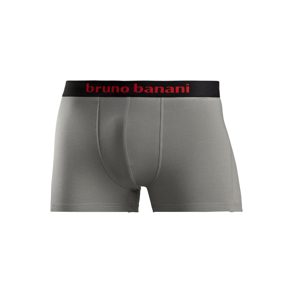 Bruno Banani Boxer, mit farbigen Marken-Schriftzug am Bündchen