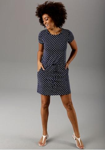 Aniston CASUAL Sommerkleid, mit Palmen oder Punkten bedruckt - Du hast die Wahl - NEUE KOLLEKTION kaufen