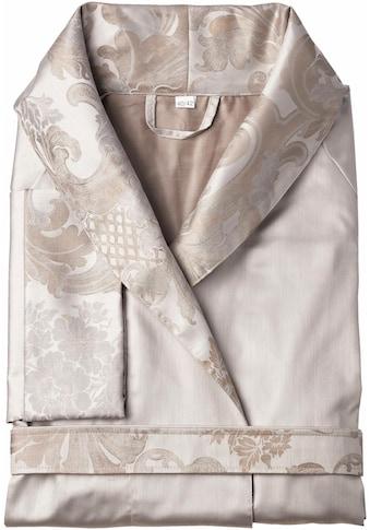 Curt Bauer Damenbademantel »Louis XVI.«, mit floralen Ornamenten verziert kaufen