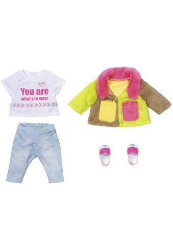 Baby Born Puppenkleidung »Deluxe Regenbogen Mantel« kaufen
