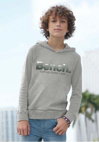 Bench. Kapuzensweatshirt, mit Logodruck im Farbverlauf kaufen