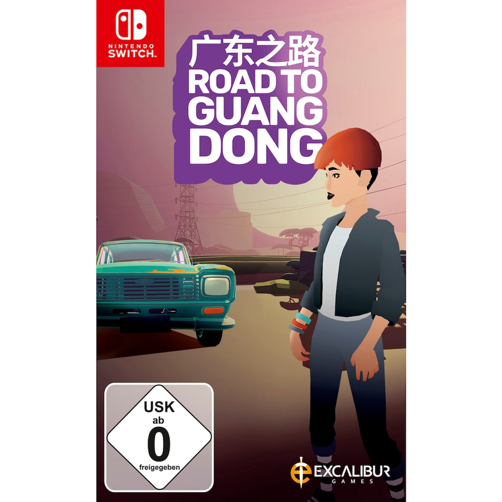 Spiel »Road to Guangdong«, Nintendo Switch