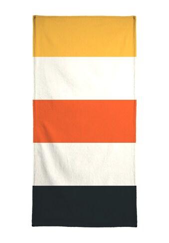 Juniqe Handtuch »Sylt«, (1 St.), Weiche Frottee-Veloursqualität kaufen