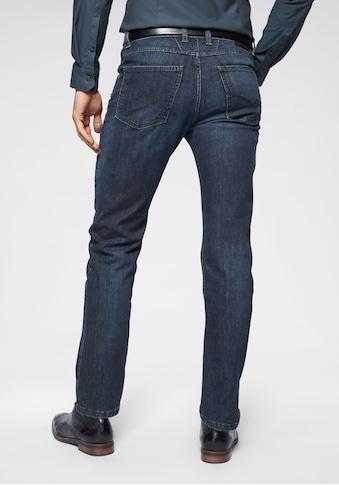 bugatti 5-Pocket-Jeans, Gürtelschlaufenbund mit Zip-fly kaufen