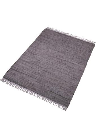 Home affaire Teppich »Fanoos«, rechteckig, 5 mm Höhe, Wendeteppich, Wohnzimmer kaufen