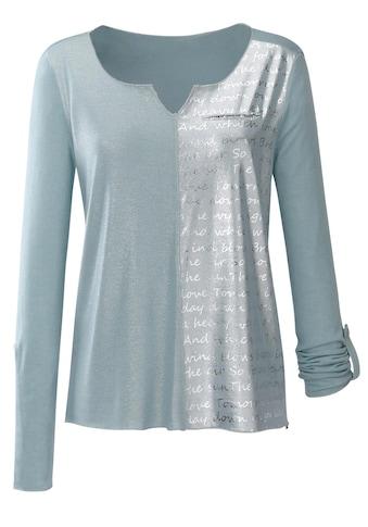 Inspirationen Druck - Shirt im aktuellen Materialmix kaufen