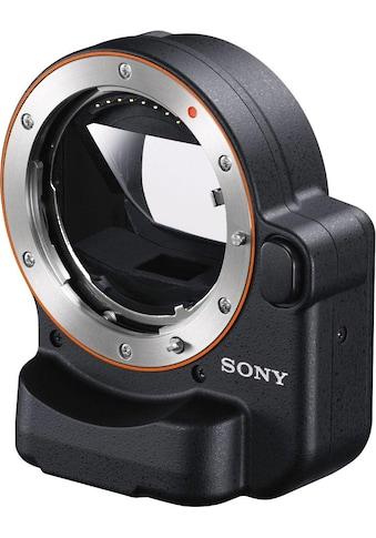 Sony Objektiv-Adapter »LA-EA4«, E-Mount auf A-Mount Bajonett mit Phasen Autofokus (15... kaufen