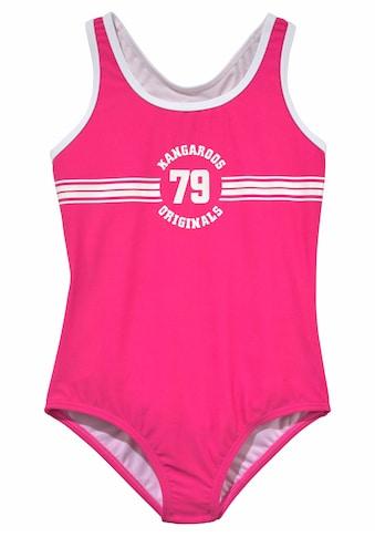 KangaROOS Badeanzug »Sporty« acheter