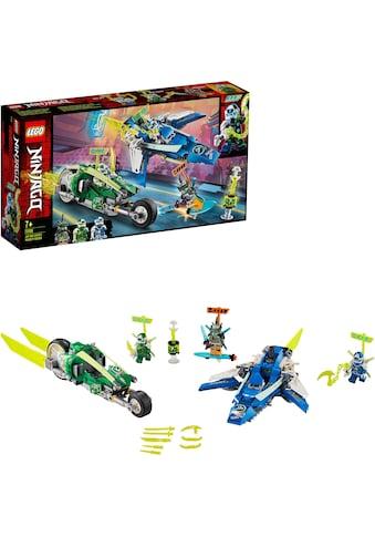 "LEGO® Konstruktionsspielsteine ""Jay und Lloyds Power - Flitzer (71709), LEGO® NINJAGO®"", Kunststoff, (322 - tlg.) kaufen"