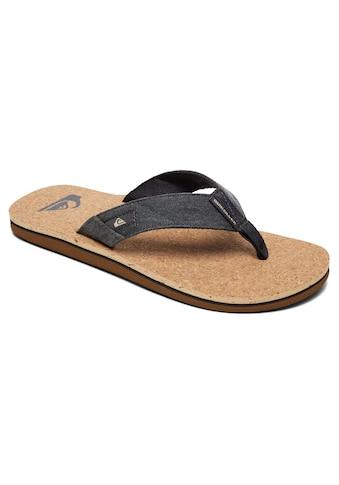 Quiksilver Sandale »Molokai Abyss Cork« kaufen