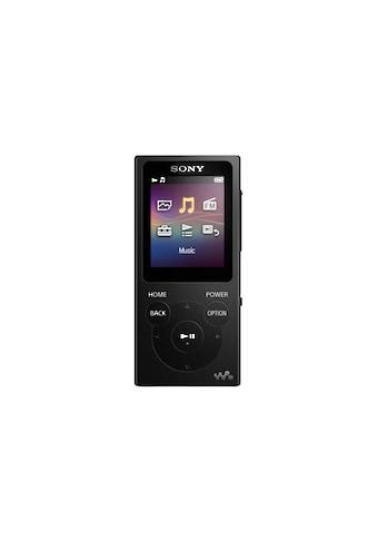 Sony MP3-Player »NW-E393B Schwarz« kaufen