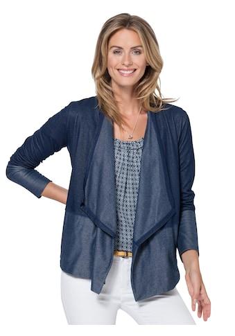 Ambria Shirtjacke in Denim - Optik kaufen