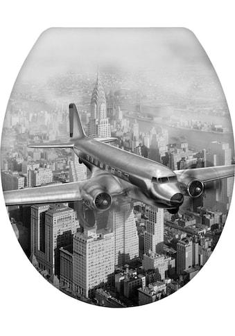 WENKO WC-Sitz »Old-Time Plane« kaufen