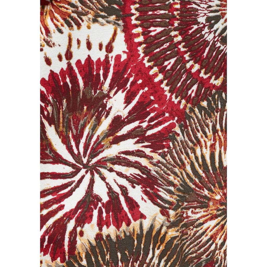 Boysen's Jerseykleid, mit herzförmigem Ausschnitt