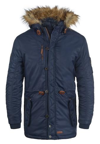 Blend Parka »Eugen«, warme Jacke mit abnehmbarem Kunstfellkragen kaufen