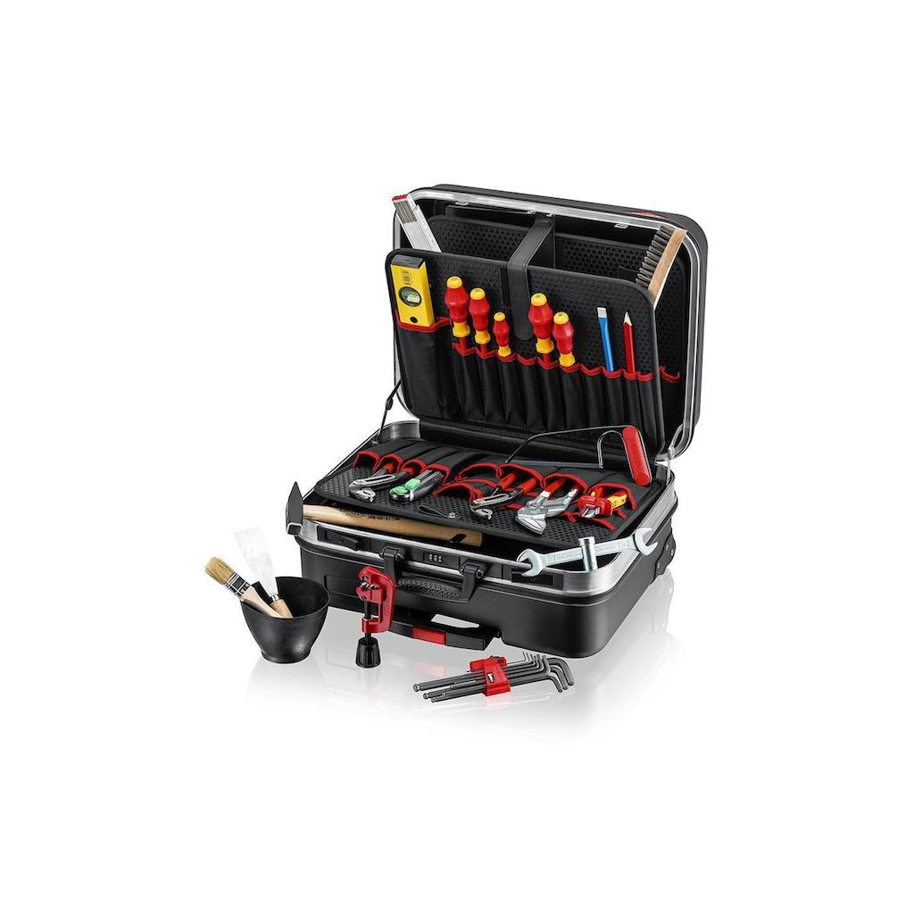 Knipex Werkzeugset »Werkzeugkoffer BIG Basic Move, Sanitär, 31-teilig«