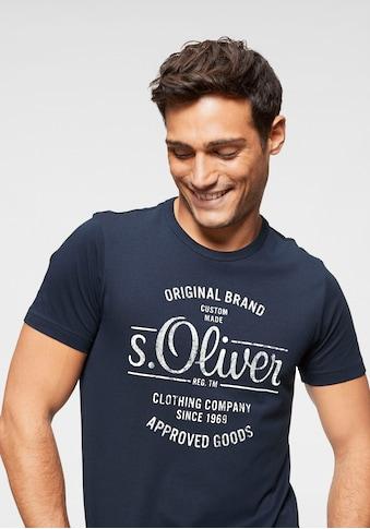 s.Oliver Rundhalsshirt kaufen