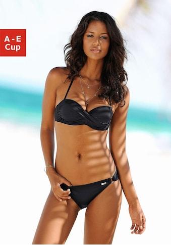 LASCANA Bandeau-Bikini-Top »Italy«, mit seitlichen Stäbchen kaufen