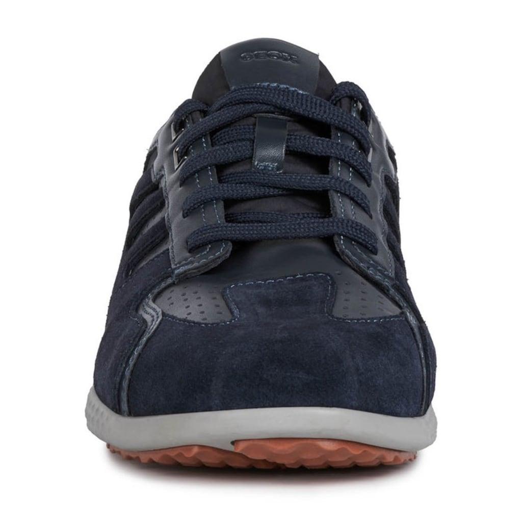 Geox Sneaker »Snake 2«, im Materialmix