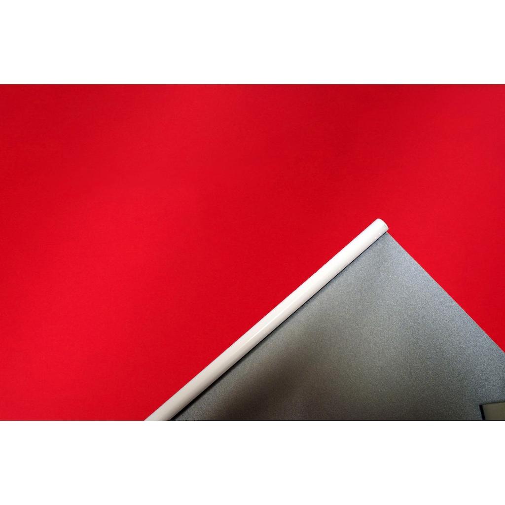sunlines Seitenzugrollo »One size Style Satin Perl«, Lichtschutz, freihängend, Made in Germany