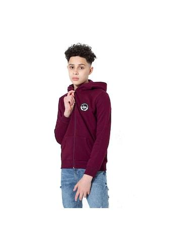 Hype Kapuzensweatjacke »Jungen Kapuzenjacke mit Logo-Abzeichen« kaufen