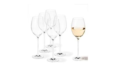 LEONARDO Weinglas »Leonardo Weissweinglas Cheers 400 m«, (6 tlg.), 6 teilig geeignet... kaufen