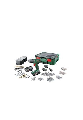 BOSCH Akku-Bohrmaschine »PSR 1800 L«, Mit zweitem Akku/Ladegerät/im Koffer kaufen
