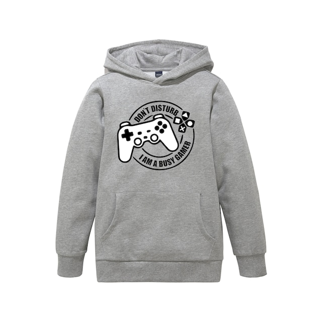 Arizona Kapuzensweatshirt »BUSY GAMER«