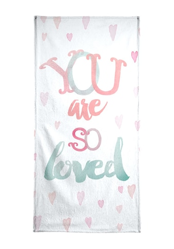 """Handtuch """"You Are So Loved"""", Juniqe kaufen"""