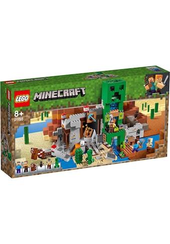 """LEGO® Konstruktionsspielsteine """"Die Creeper™ Mine (21155), LEGO® Minecraft™"""", (834 - tlg.) kaufen"""
