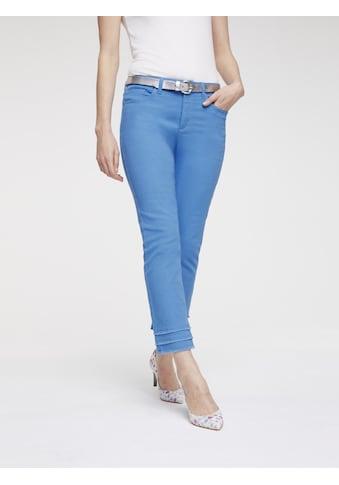 LINEA TESINI by Heine 7/8-Jeans, mit Fransen kaufen