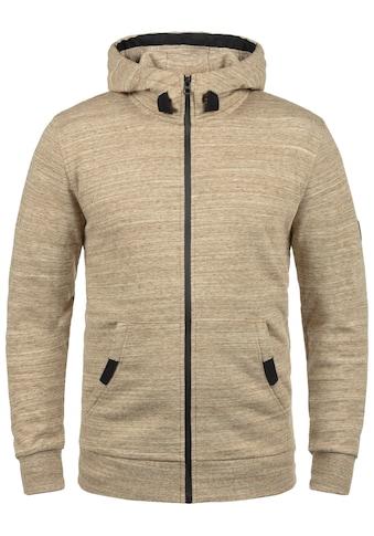 Solid Kapuzensweatjacke »Obito«, Sweatshirtjacke mit Kontrastkordel-Details kaufen
