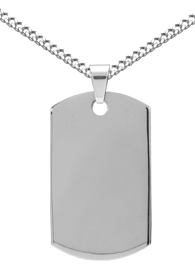 Image of Firetti Kette mit Anhänger »Dog Tag Style«