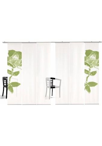 emotion textiles Schiebegardine »Pixel Rose TR«, HxB: 260x60, inkl. Befestigungszubehör kaufen