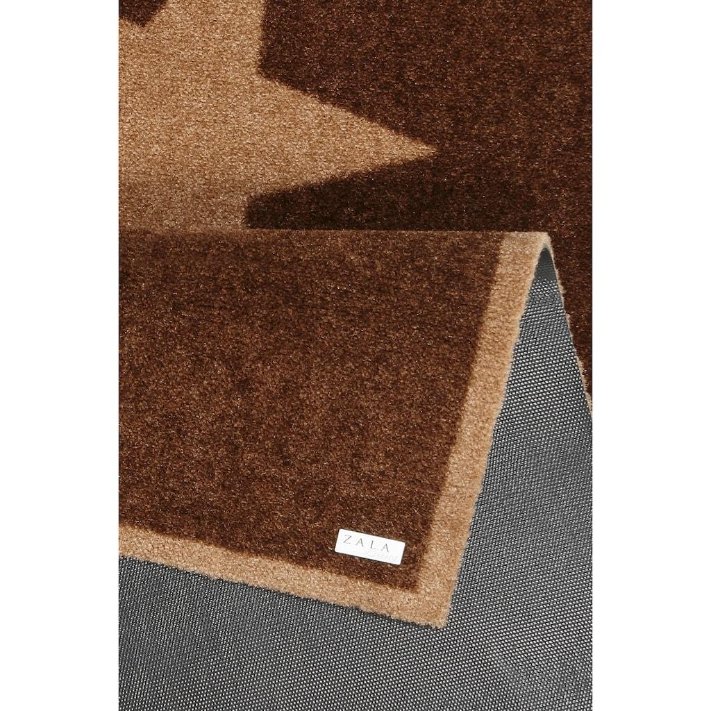 Zala Living Läufer »Sterne«, rechteckig, 7 mm Höhe, Schmutzfangläufer