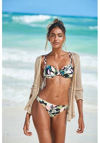 s.Oliver Bikini-Hose »Herbst«, mit floralem Design kaufen