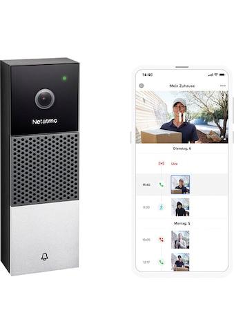 Netatmo Video-Türsprechanlage »Smarte Videotürklingel«, Aussenbereich kaufen