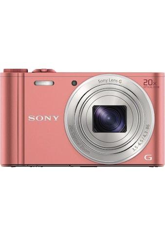 Sony Superzoom-Kamera »Cyber-Shot DSC-WX350«, 25mm Sony G, 20 fach optischer Zoom kaufen
