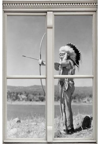 queence Wandsticker »Indianer« kaufen