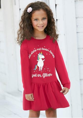 KIDSWORLD Jerseykleid »Einhorn« kaufen