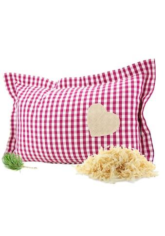 Zirbelino Duftkissen »Zirbenduftkissen«, Füllung: 100% Zirbenspäne, Bezug: 100% Baumwolle, (1 St.), mit reinen Zirbenspänen gefüllt - Made in Austria kaufen
