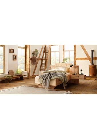 Premium collection by Home affaire Massivholzbett »Meran«, aus Zirbe, 100% vegan kaufen