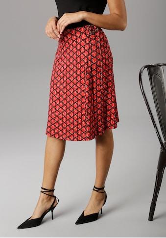 Aniston SELECTED Wickelrock, mit modischer Schnalle kaufen